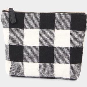 Handbags - Buffalo Check Clutch/Wrislet